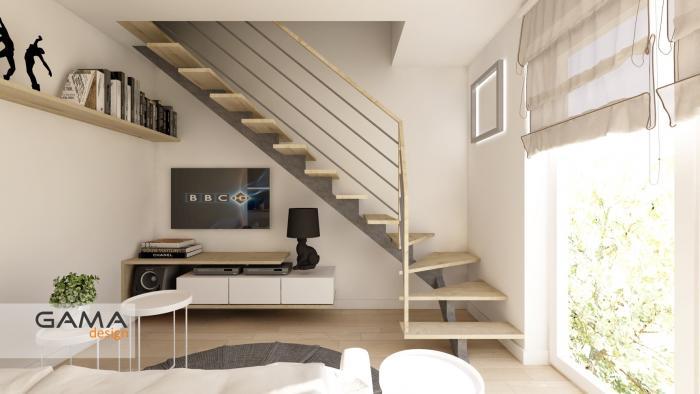 Gama Design aranzacja wnetrz koncepcja salon kuchnia 1.1-kopia