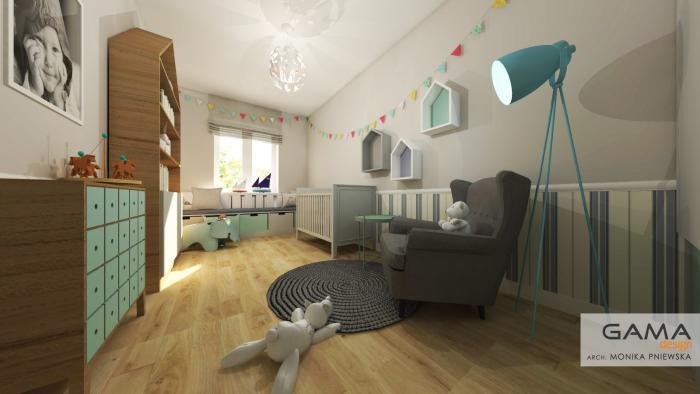 Gama design pokoj dzieciecy 1