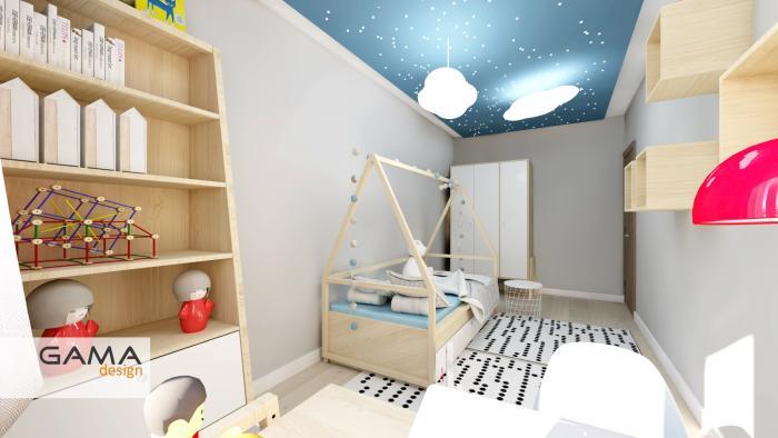 Gama design projekt pokoj dziecka 3-kopia