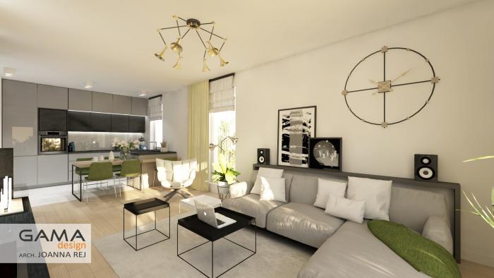 gama design aranzacja wnetrz projekt salon 2