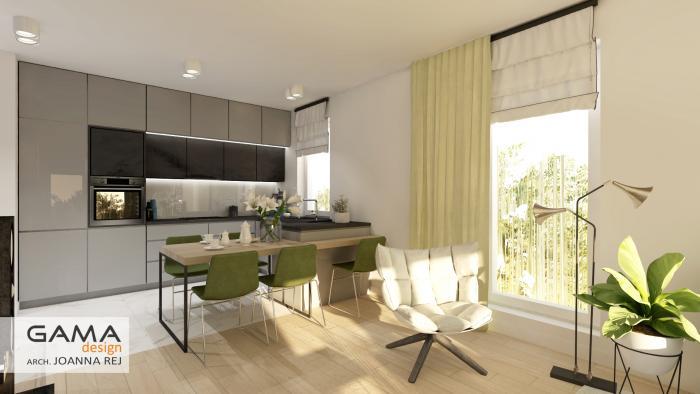 gama design aranzacja wnetrz projekt salon 5