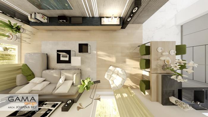 gama design aranzacja wnetrz projekt salon 6