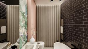 Gama Design, lazienka, łazienka, projekt pod klucz, wykończenie pod klucz, projekt pod klucz Warszawa, mala lazienka, mała łazienka,