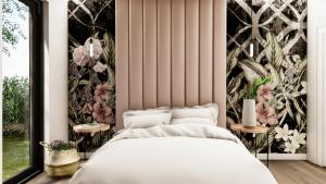 Gama Design, sypialani, mała sypialnia, nowoczesna sypialnia, projekt pod klucz, wykończenie pod klucz, projekt pod klucz Warszawa, mala lazienka, mała łazienka,
