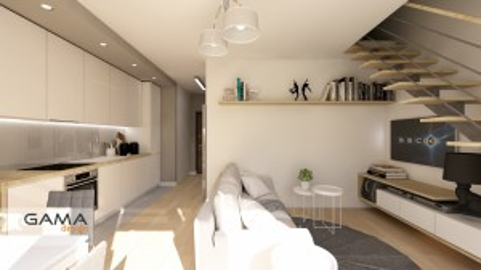 Gama Design aranzacja wnetrz koncepcja salon kuchnia 1.2-kopia
