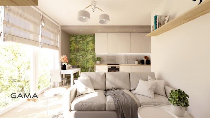 Gama Design aranzacja wnetrz koncepcja salon kuchnia 1.3-kopia