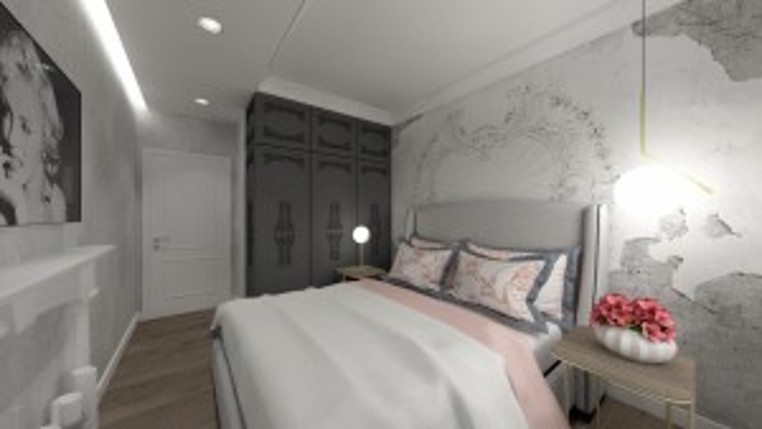 Gama Design aranzacja wnetrz sypialnia 3