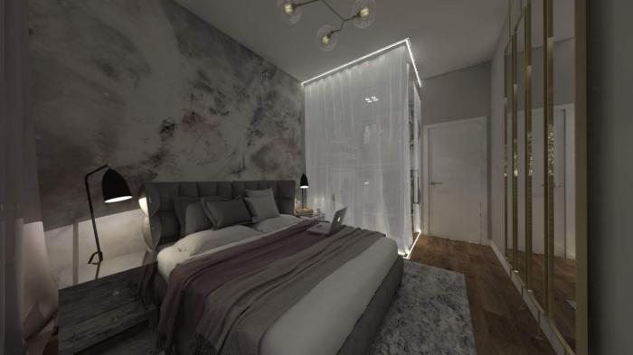Gama design wykonczenie pod klucz sypialnia 2