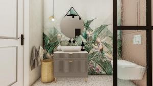 Łazienka, gama design, projektowanie wnętrz, aranżacja wnętrz warszawa, mała łazienka.